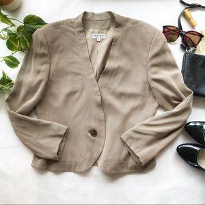 Giorgio Armani Vintage Jacket Size 12 EUC